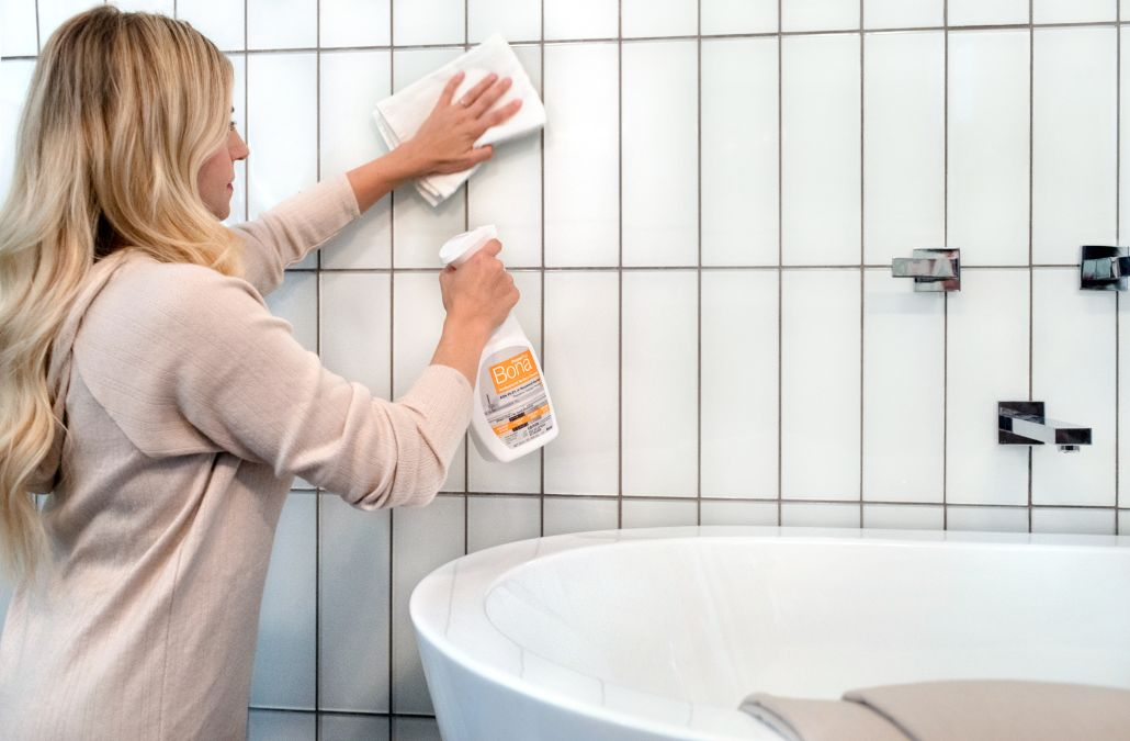 <p>Learn how to clean tile grout and keep your home looking clean and fresh.</p>