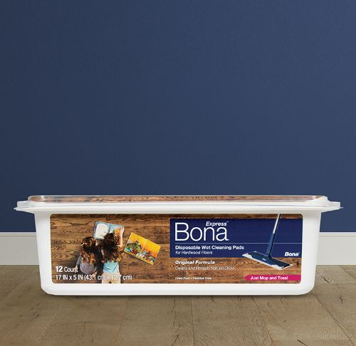 Bona® Disposable Wet Cleaning Pads for Hardwood Floors