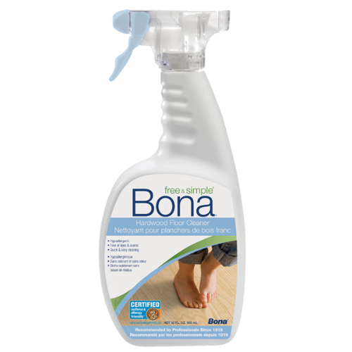 Bona Free Amp Simple 174 Hardwood Floor Cleaner 1 06l 36 Oz