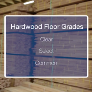 &lt;p&gt;The grade of wood for your floor also impacts the overall look. Learn more about hardwood floor grades at &lt;strong&gt;1:05&lt;/strong&gt; in the video.&lt;/p&gt;<br/>