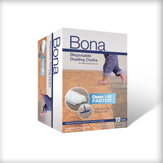 &lt;p&gt;At 0:07, see the difference in the 3D design of Bona Disposable Dusting Cloths.&lt;/p&gt;<br/>
