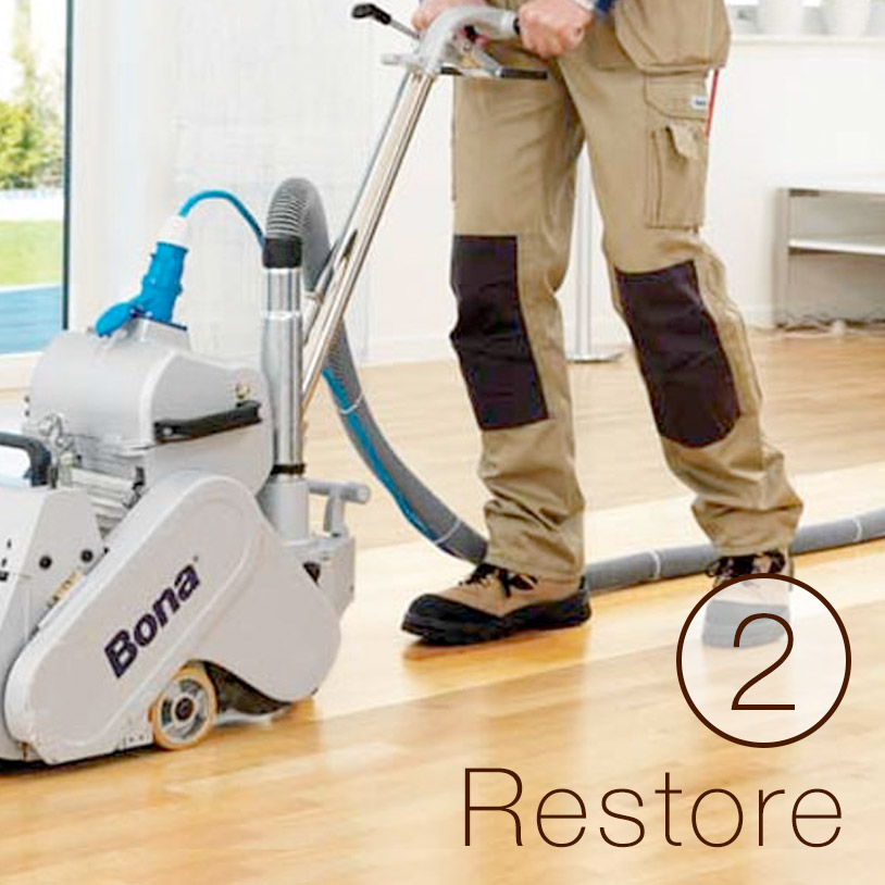 <p>Rejuvenate floors with a new coat of finish.</p><br/>
