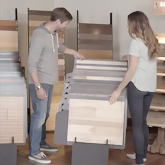 &lt;p&gt;Board sizes of wood flooring can do a lot to transform the look of your room. Imagine the possibilities at &lt;strong&gt;0:15&lt;/strong&gt; in the video.&lt;/p&gt;<br/>