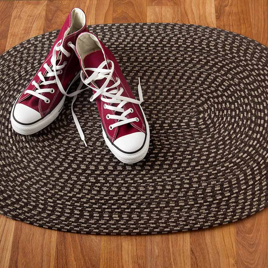<p><strong>Place mats or rugs at entryways or other traffic areas to minimize the amount of dirt and debris that gets onto your hardwood flooring. </strong>Make sure the protective coverings you use are designed for wood floors. Some rubber-backed mats can trap moisture, damaging floors in the process.</p><br/>